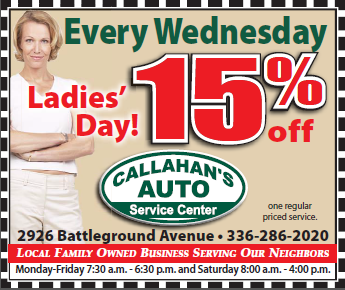 Callahan's Every Wednesday Ladies Day