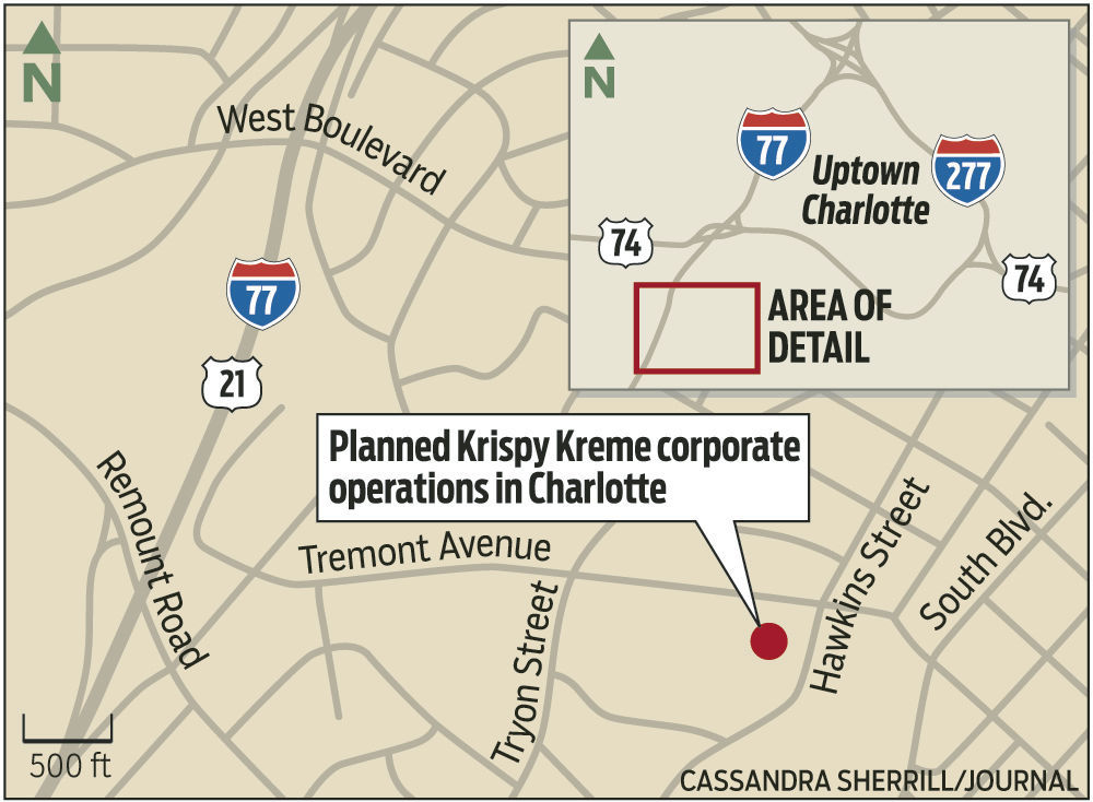 Krispy Kreme Has Chosen Corporate Site In Charlottes South End