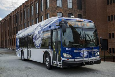 High Point Transit System Unveils New Buses (copy)