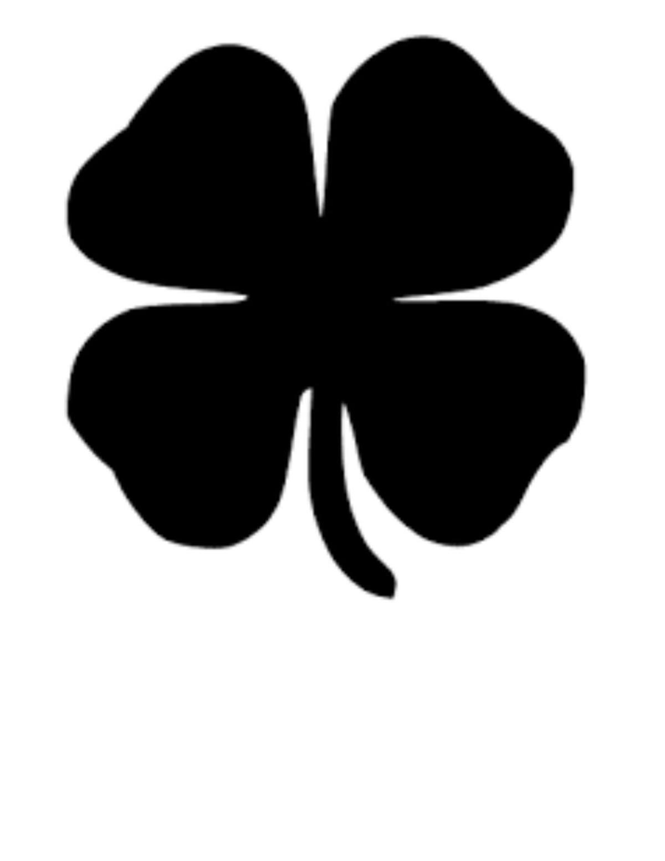 Four Leaf Clover Patternpdf Greensborocom