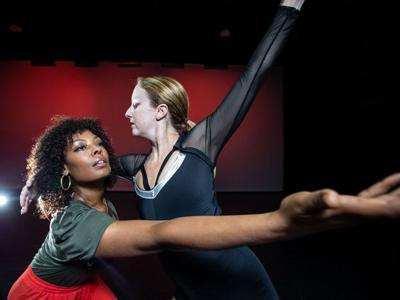 NC Dance Festival Christine Bowen Stevens and Clarice Young