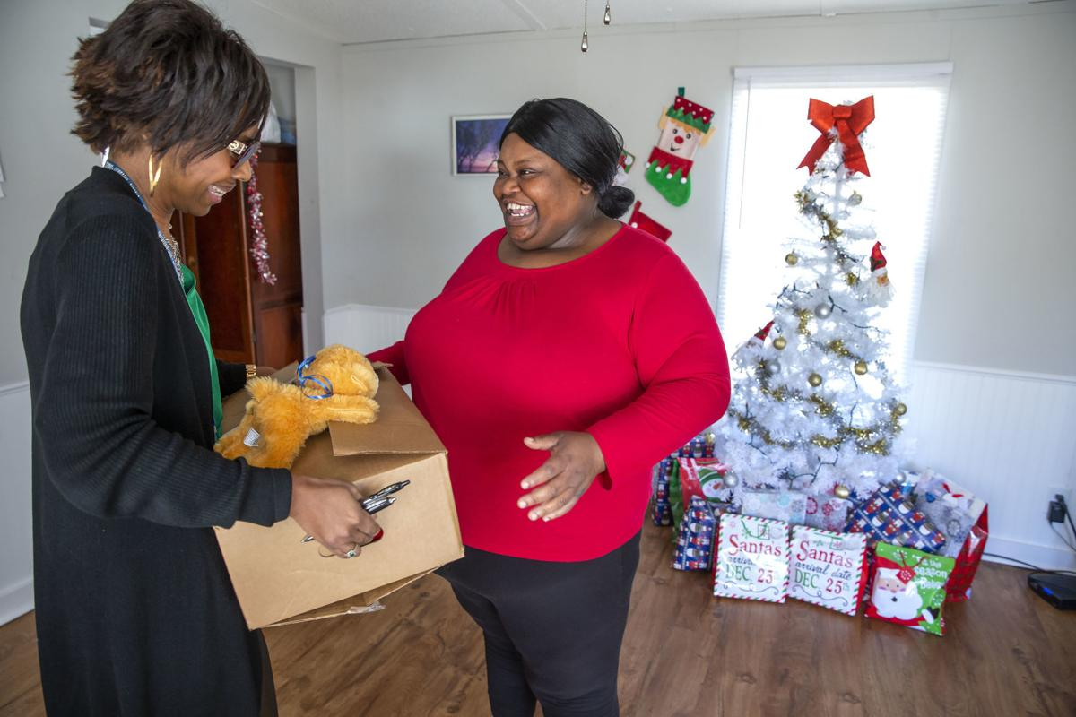 Communities in Schools food delivery