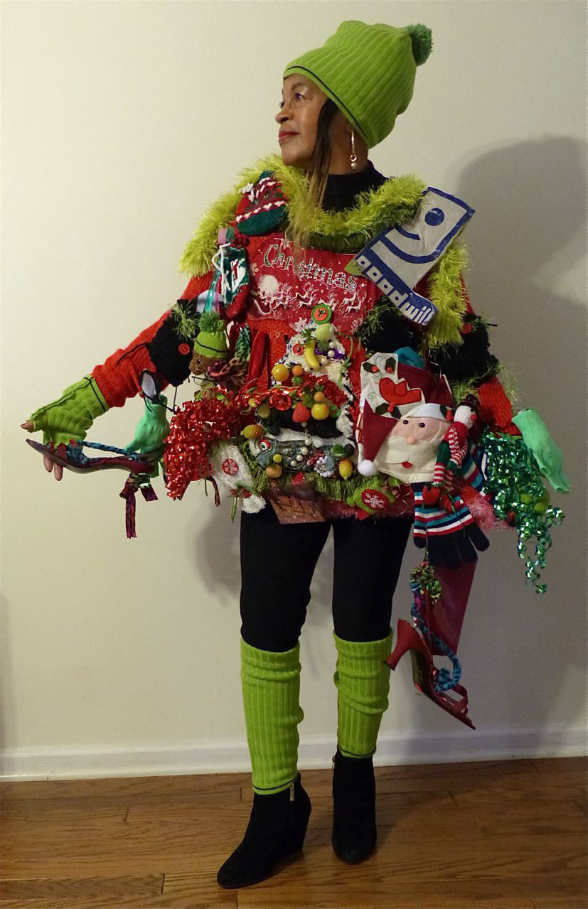 31 Ugly Christmas Sweater Ideas - Snappy Pixels |Ugliest Sweater Contest Ideas