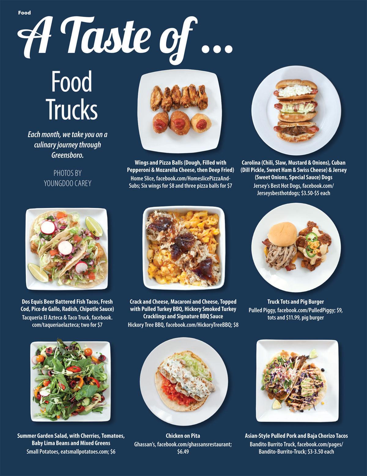 A taste of food trucks food drink greensboro a taste of food trucks copy forumfinder Images