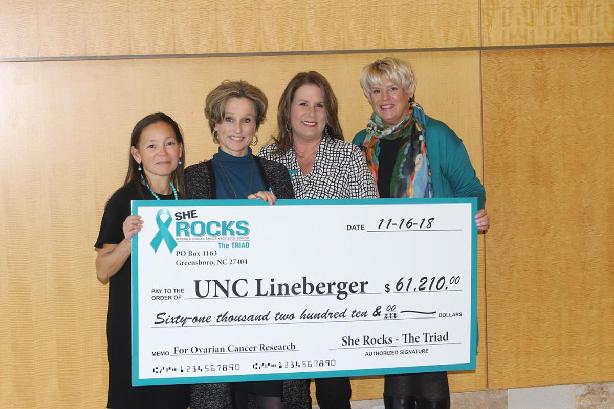 Nonprofit: She Rocks The Triad boosts awareness of ovarian