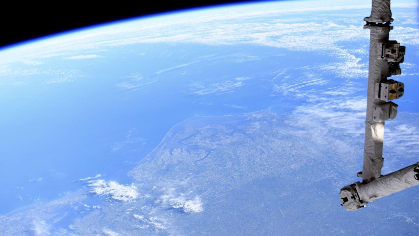 N.C. State grad tweets Outer Banks photo taken from NASA's International Space Station