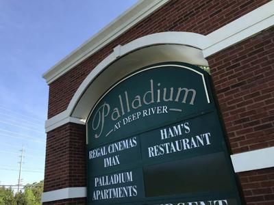 Palladium At Deep River Sign