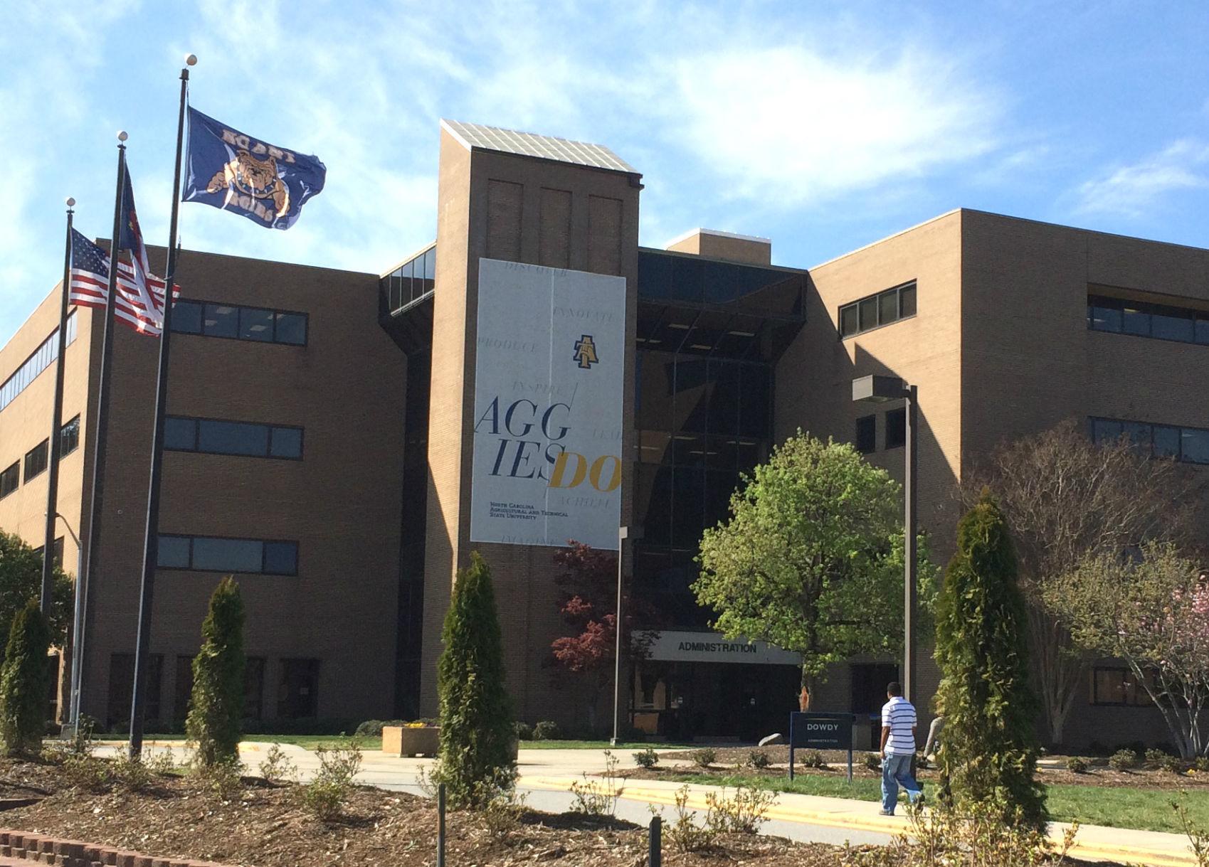 NCAT N.C. Au0026T College Generic Campus Dowdy Building Logo