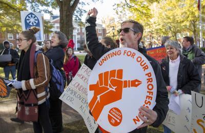Elon University union protest