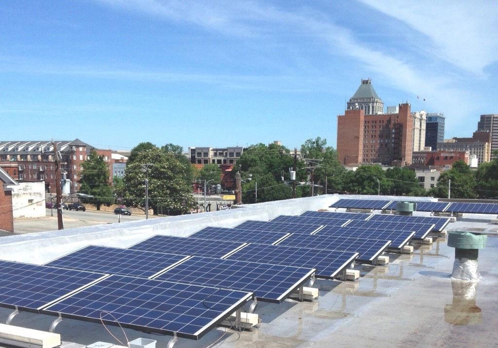 Solar Panels at Faith Community Church