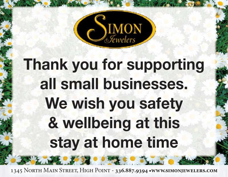 Thank you for supporting all small businesses.