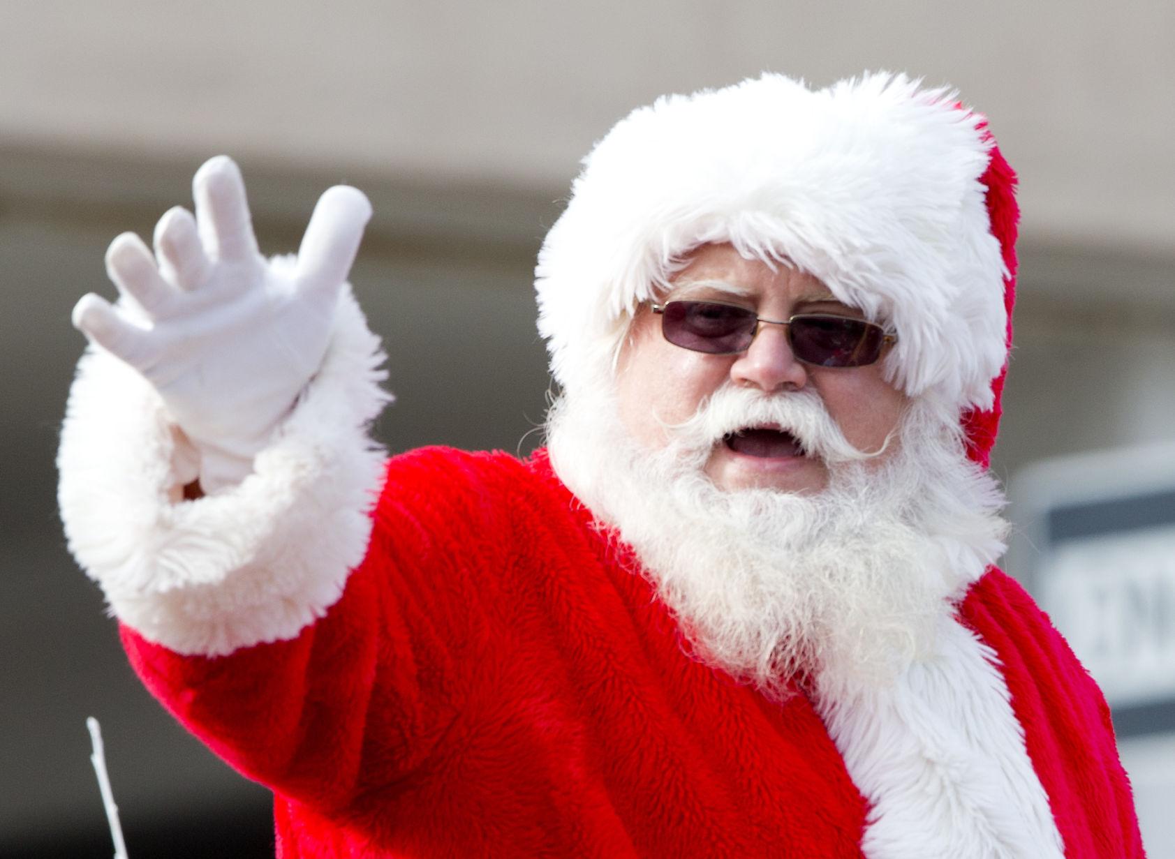 Santa and friends visit Greensboro for annual holiday parade ...