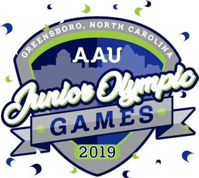 AAU junior olympic greensboro logo