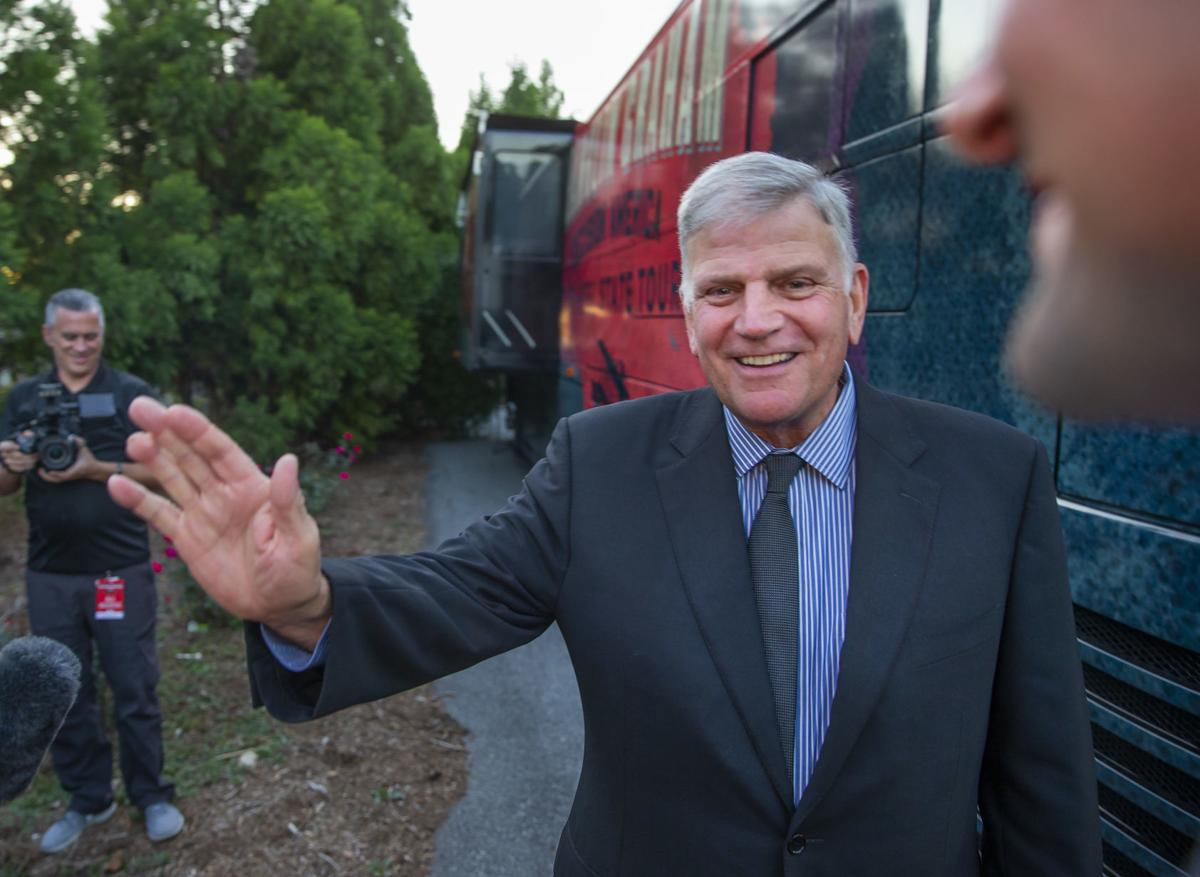 Franklin Graham in Greensboro (copy) (copy) (copy)