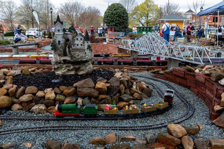 Gibsonville Garden Railroad