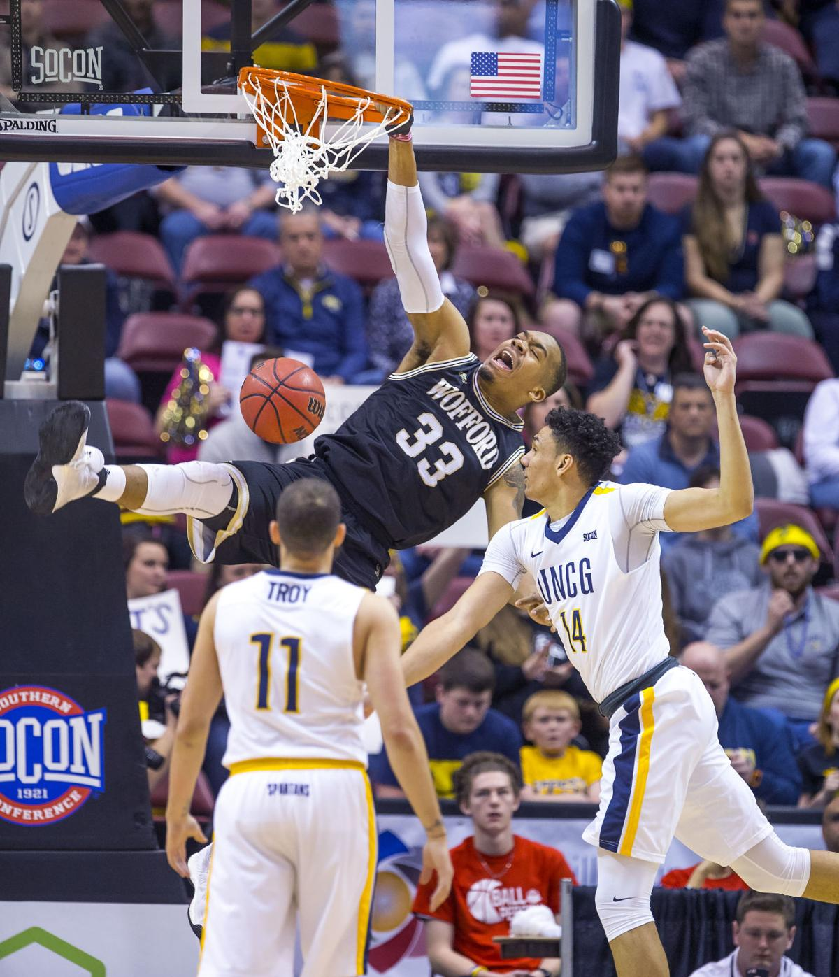 Image result for uncg 56, wofford 55