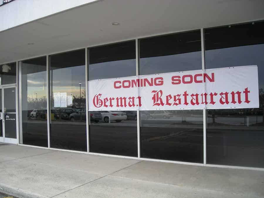 Old Europe German Restaurant Coming Soon