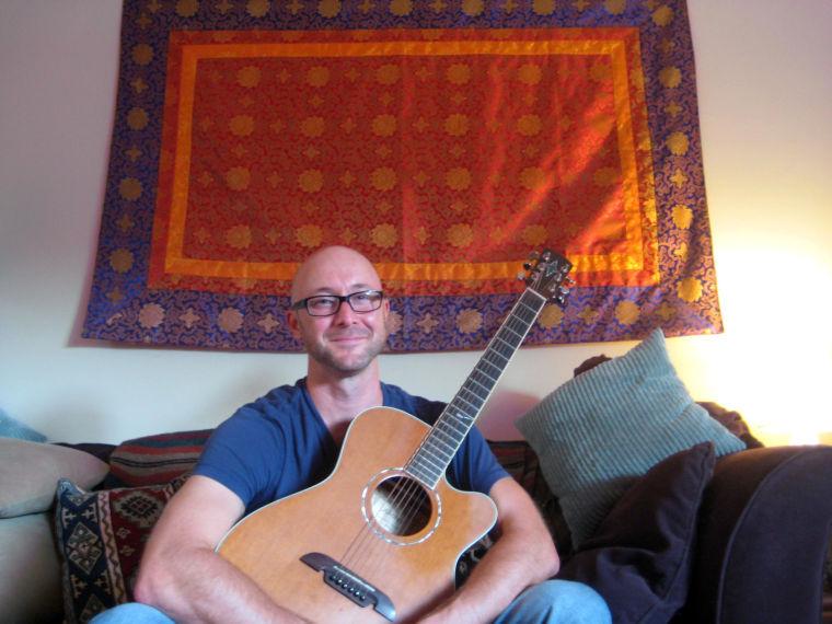 Local musician Matt Armstrong