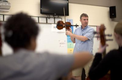 Guilford County Schools instrument camp