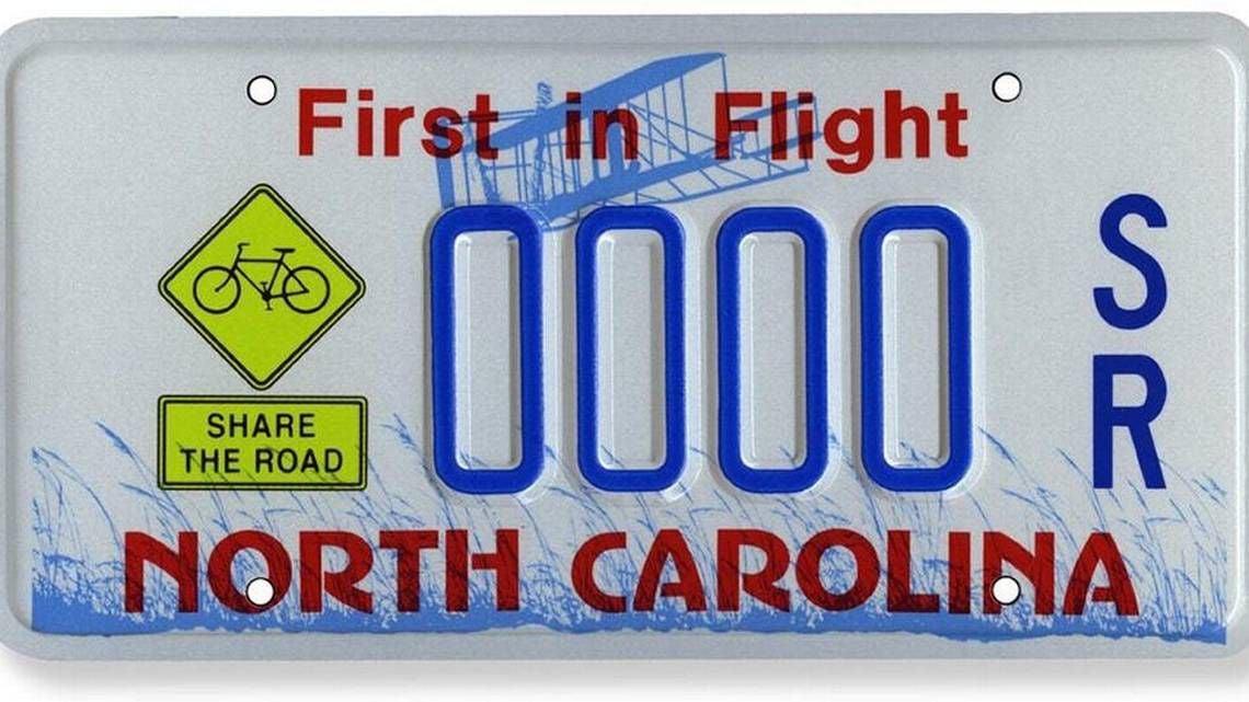 NC licence plate (WEB)