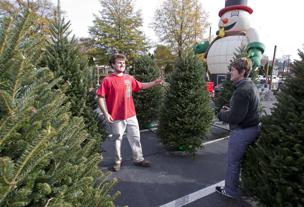 wagoner christmas tree lot