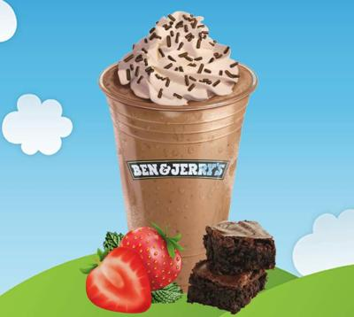Ben and Jerrys Love GSO Shake