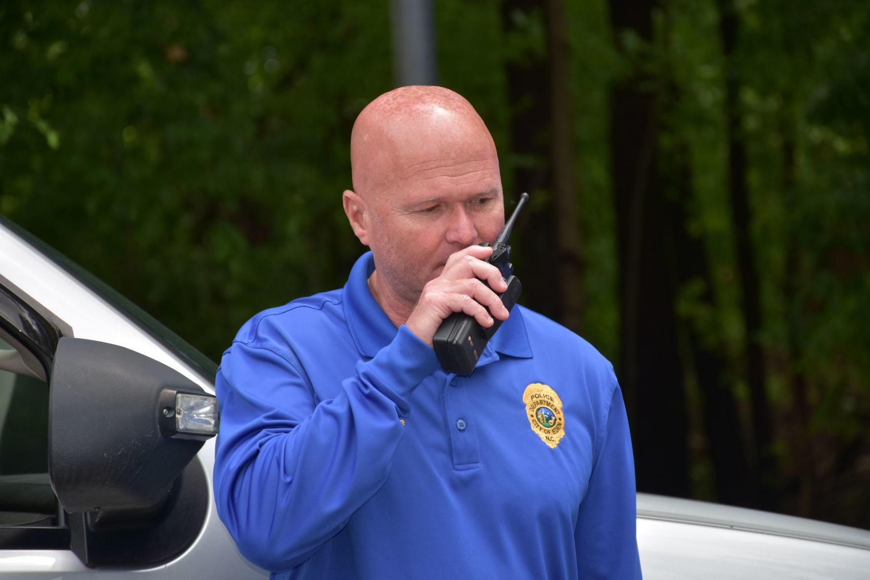 NORTH CAROLINA EDEN POLICE DEPT PATCH