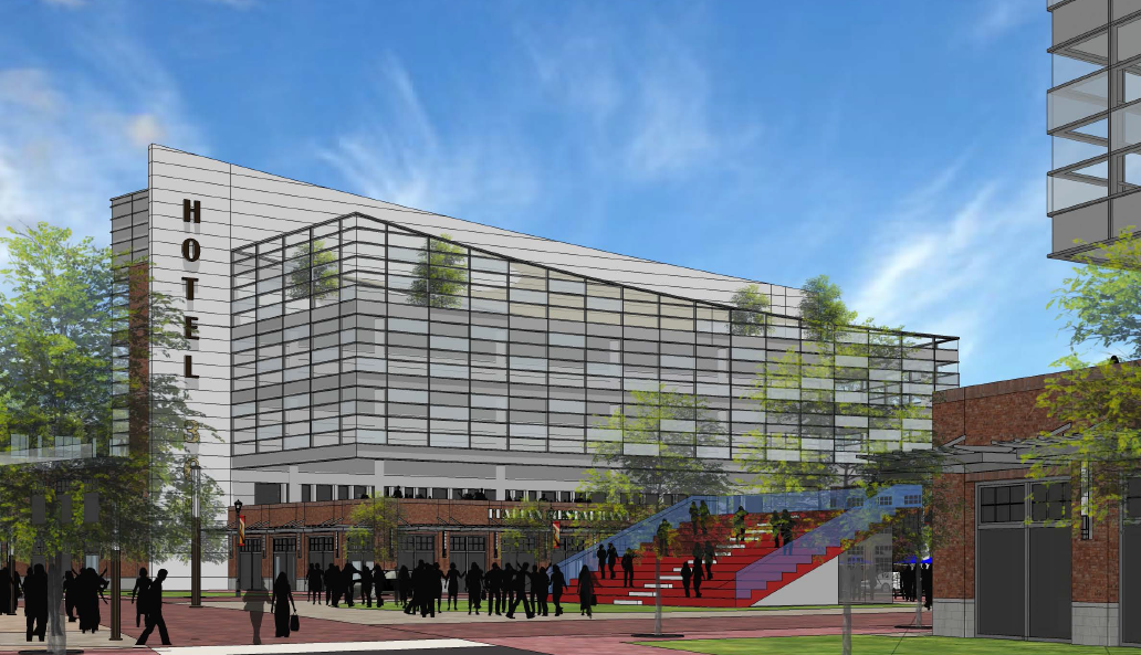 Proposed High Point hotel