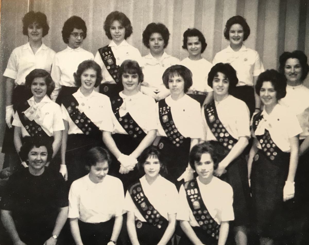 Doris Rouse was a Girl Scout through High School