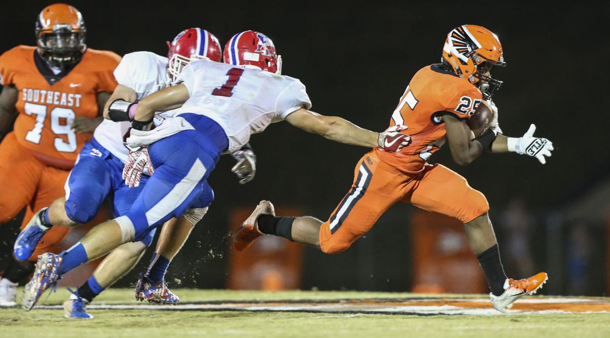 Southeast Guilford Takes Down Southern Alamance 27 8 Football