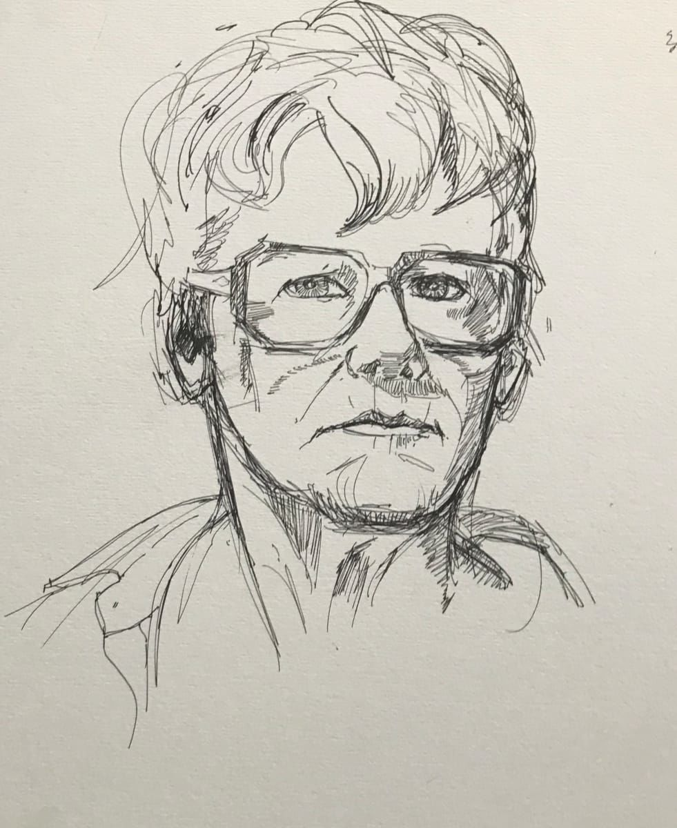 Maggie Fickett self portrait