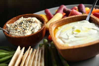 These savory Mediterranean dips will get you eating more veggies