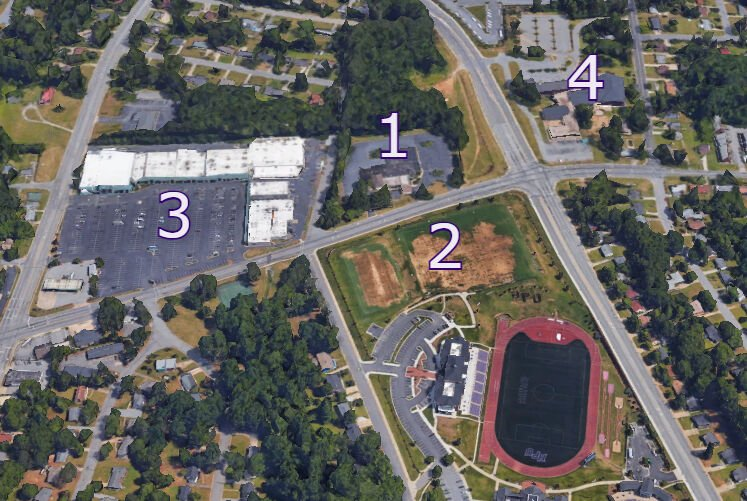 High Point University property map May 19 2021
