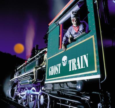 Tweetsie Railroad's annual Ghost Train
