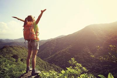 travel hiking promo