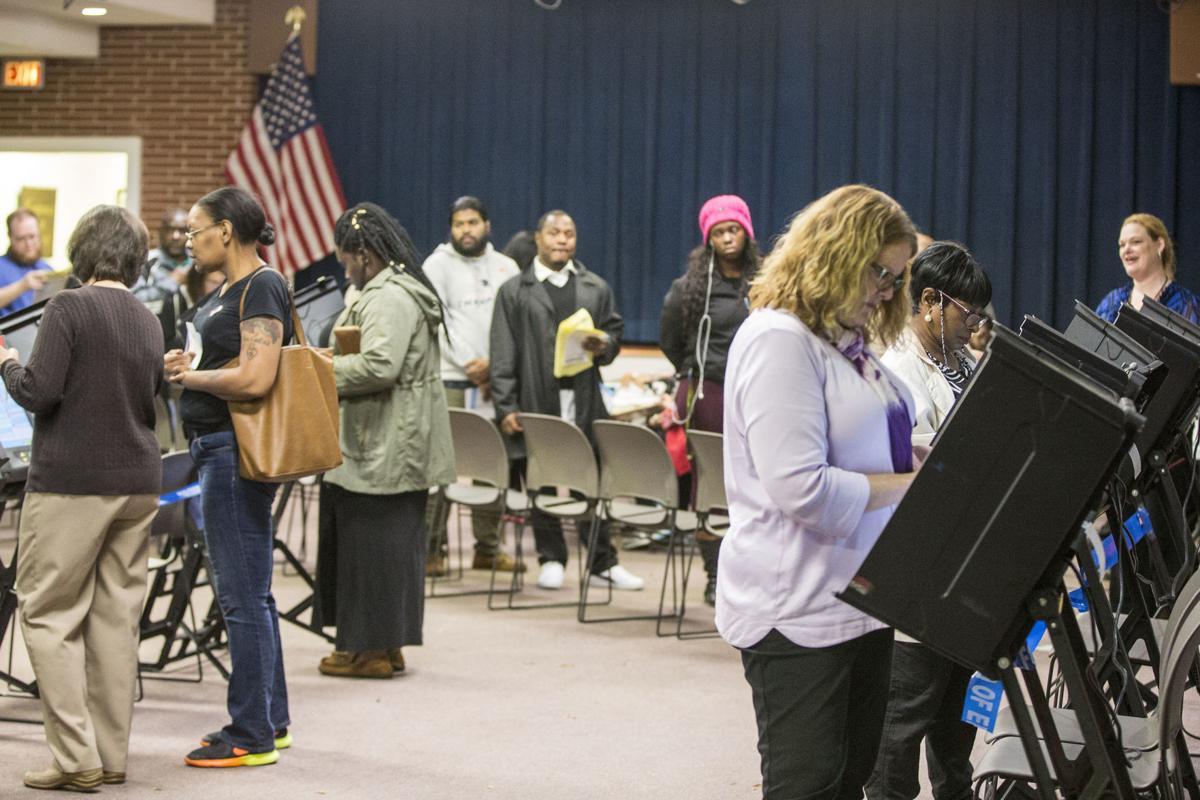 Voting Underway in Greensboro