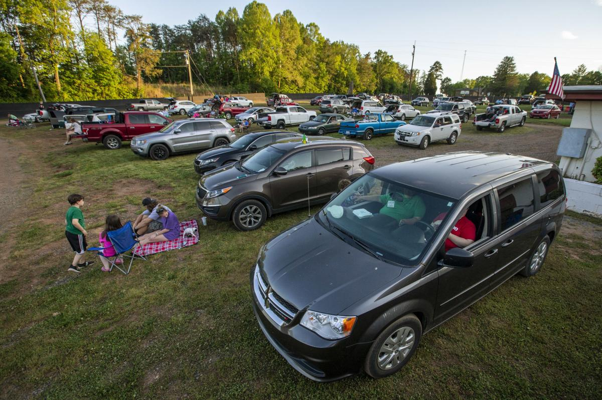 Eden Drive In Reopens Amid Pandemic With Social Distancing Measures In Place For Moviegoers Local News Greensboro Com