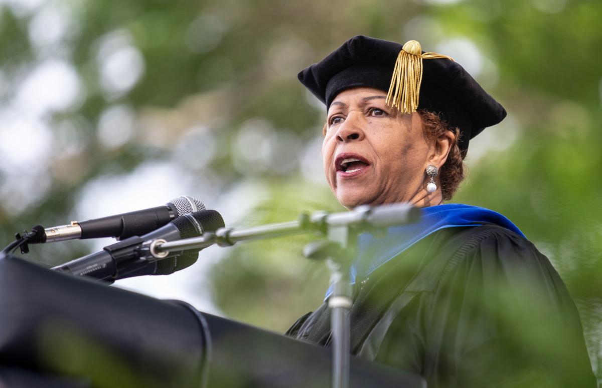 Bennett College commencement Phyllis Worthy Dawkins