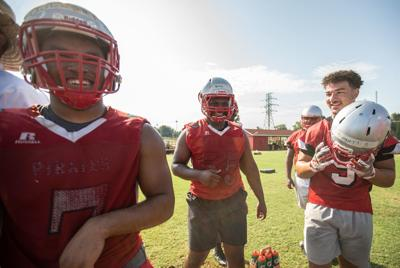 First day of football practice (copy)