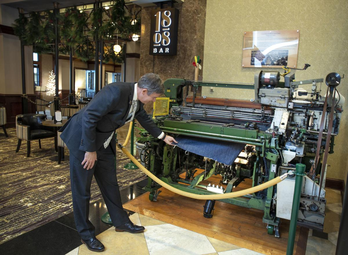 A textile loom, furniture, pottery: Grandover Resort in