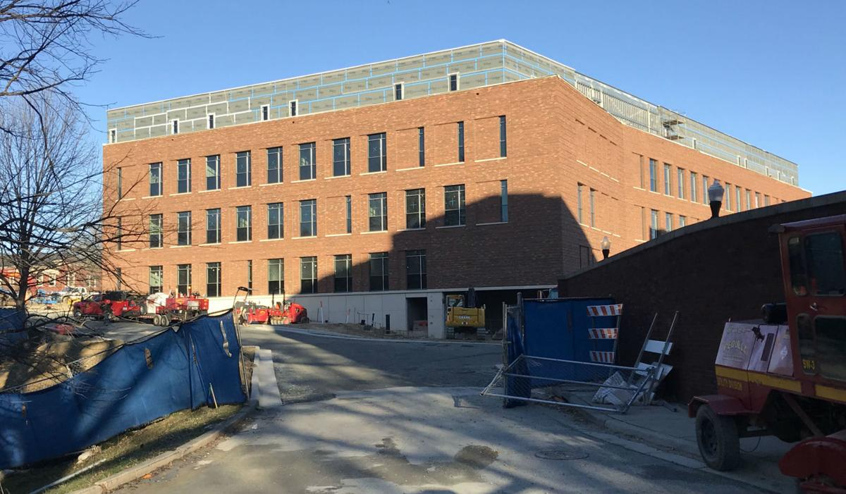 UNCG Nursing and Instructional Building 2020