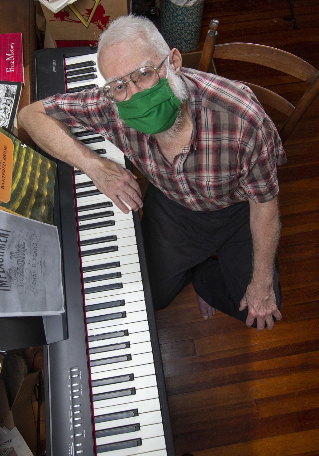 Watch Now Greensboro Pianist Gets A New Keyboard Thanks To His Friends Blog Go Triad A E Extra Greensboro Com