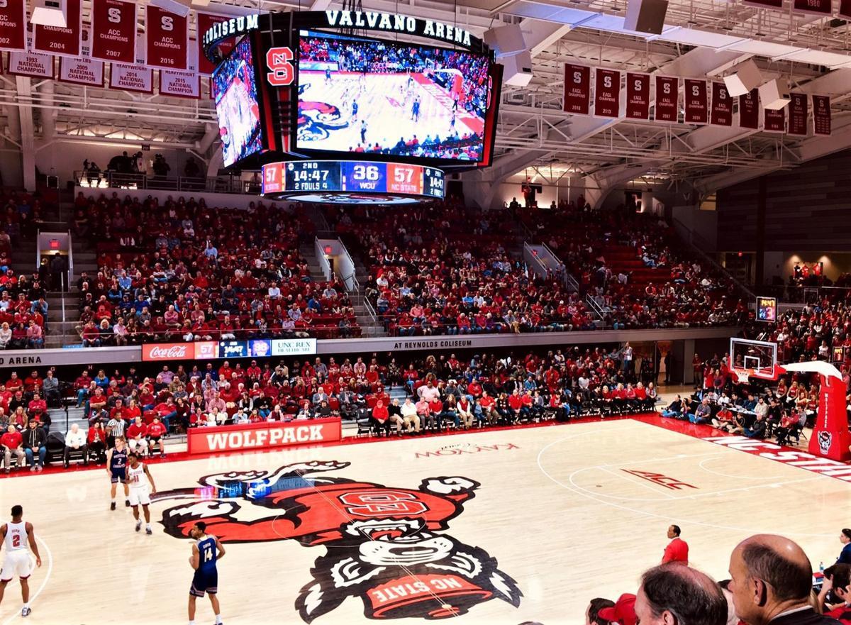 Valvano Arena at Reynolds Coliseum