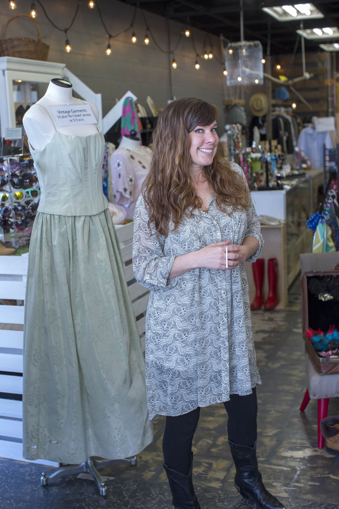 Remaking castoffs into \'couture\' (Video) | Local Business ...