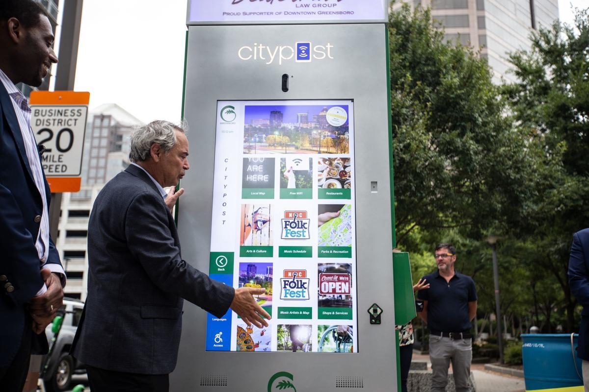 smart city kiosk