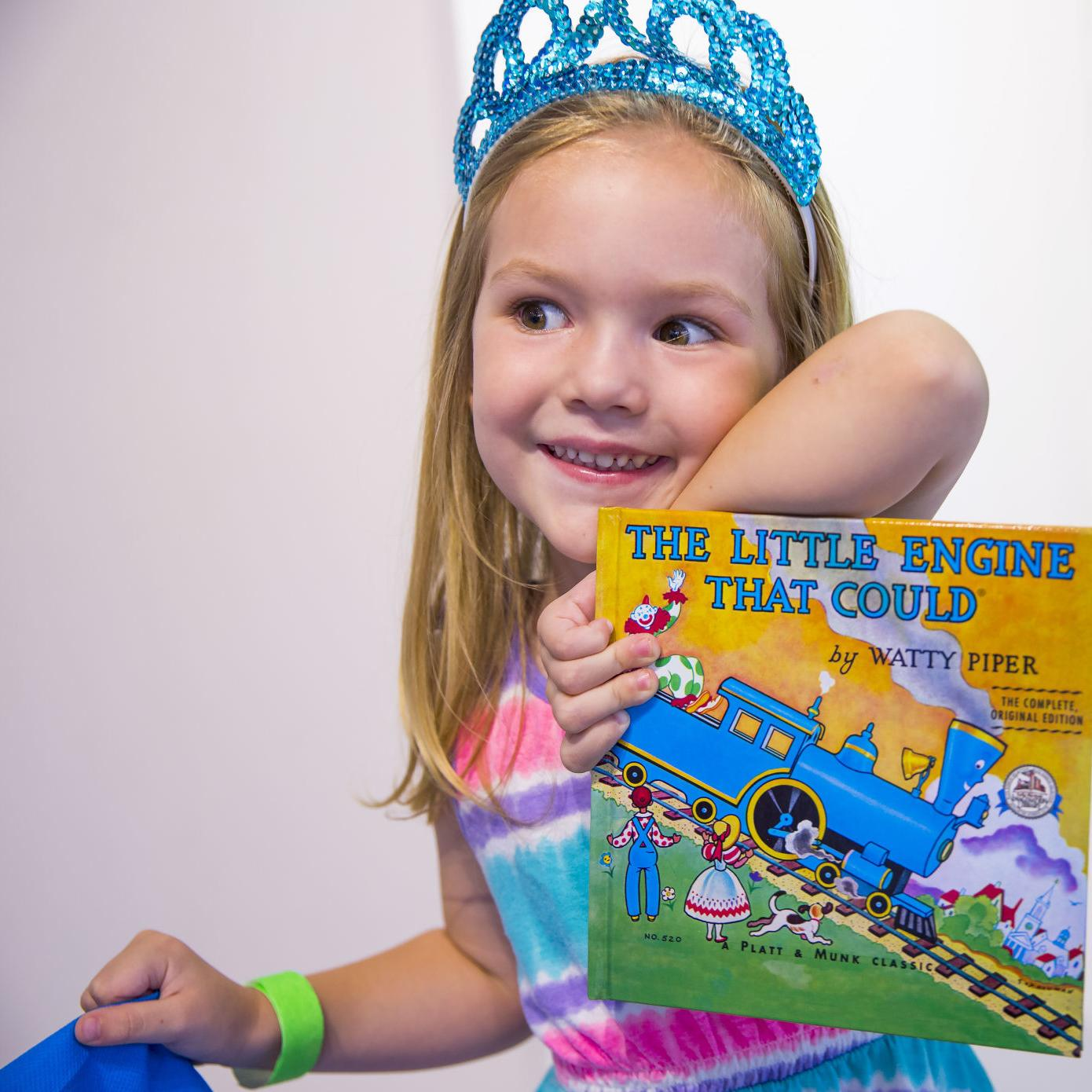 Guilford families sign up kids for free books at Imagination Library