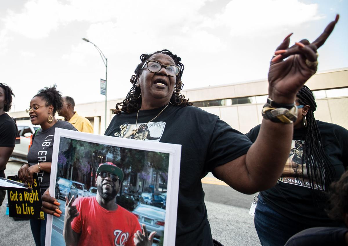 2019 vigil for Marcus Deon Smith