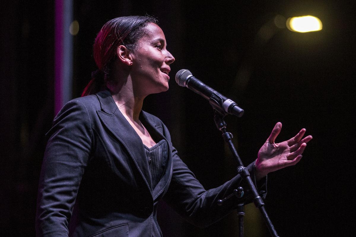 Rhiannon Giddens at N.C. Folk Festival