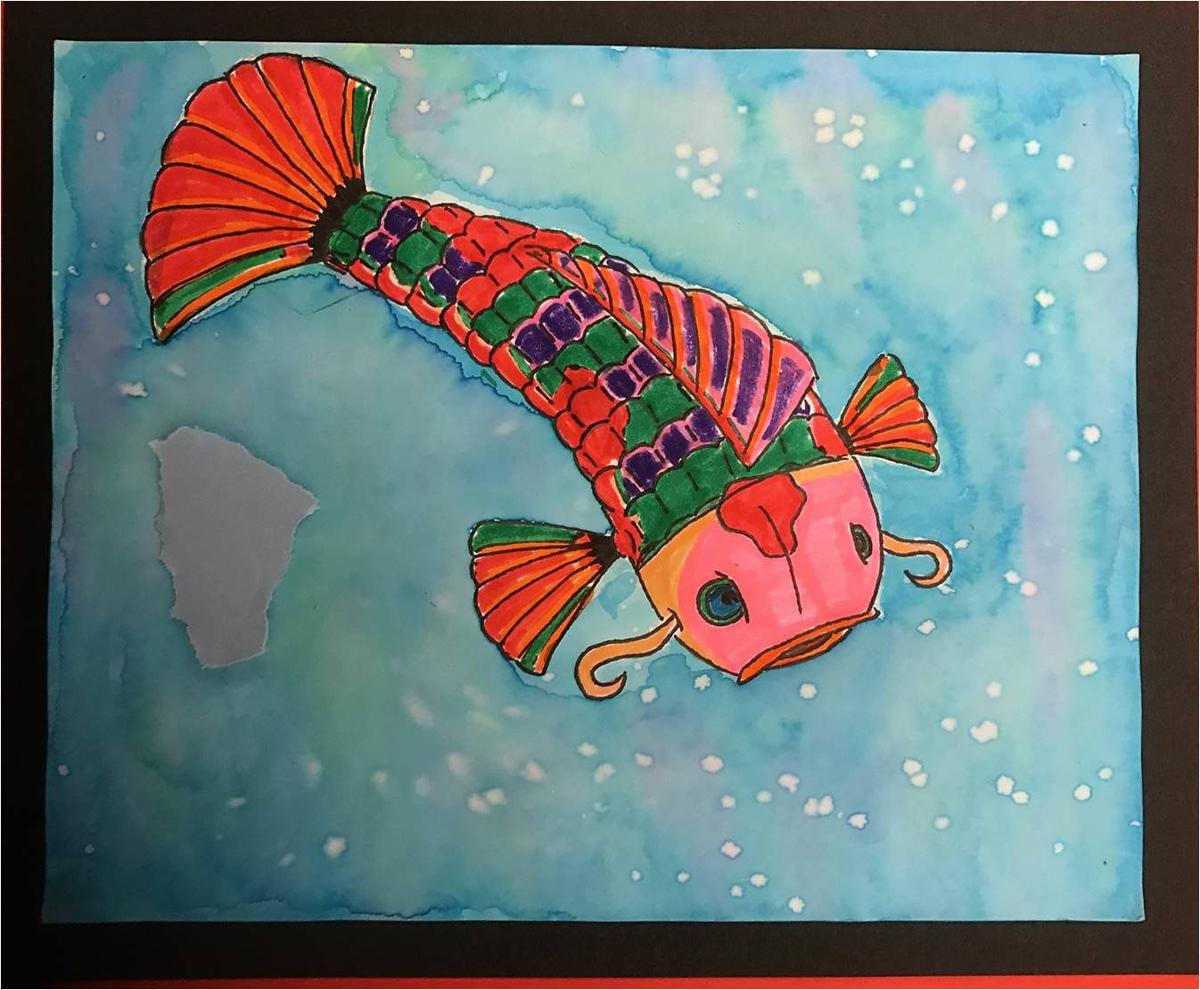 Student art gallery 2016 2017 school year gallery - Pleasant garden elementary school ...
