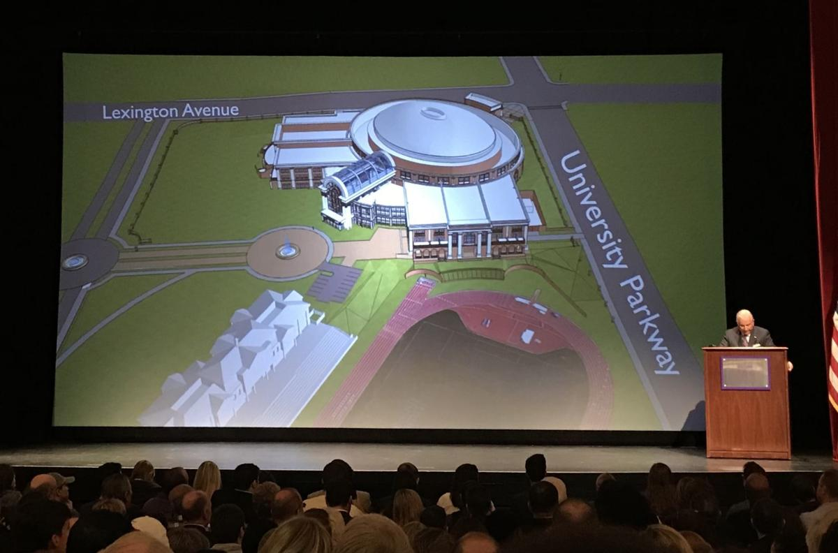 High Point University arena announcement